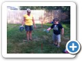 Horse shoes with Nanny.