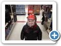 Shopping for a new goalie mask.