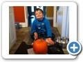 Pumpkin carving.