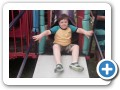 On the playground.